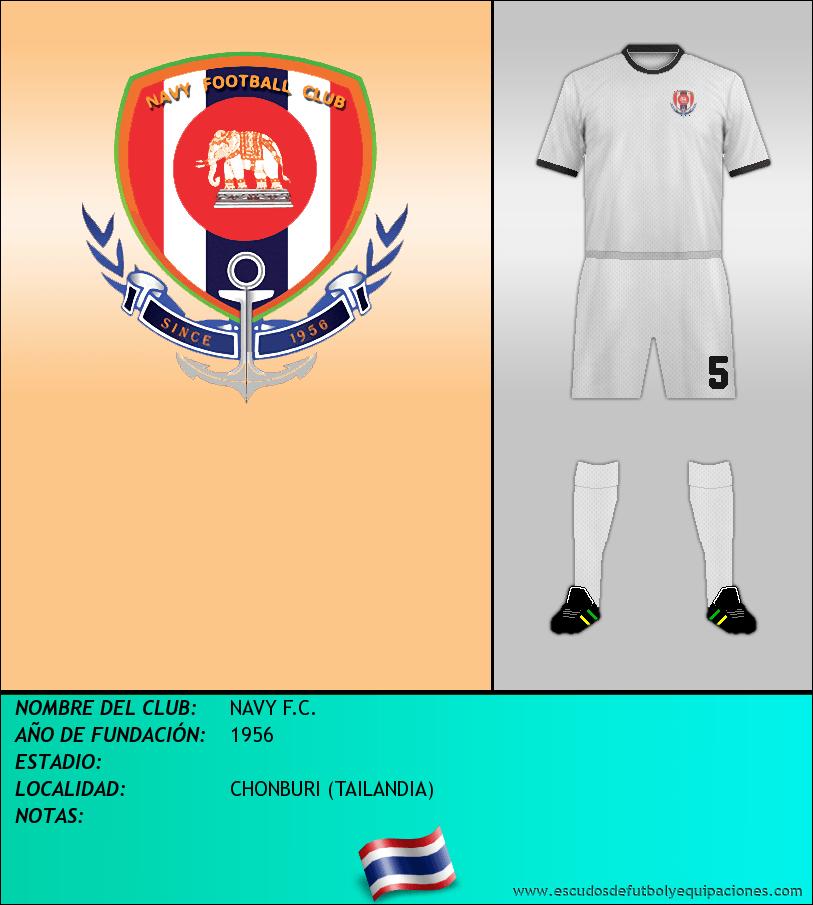 Escudo de NAVY F.C.