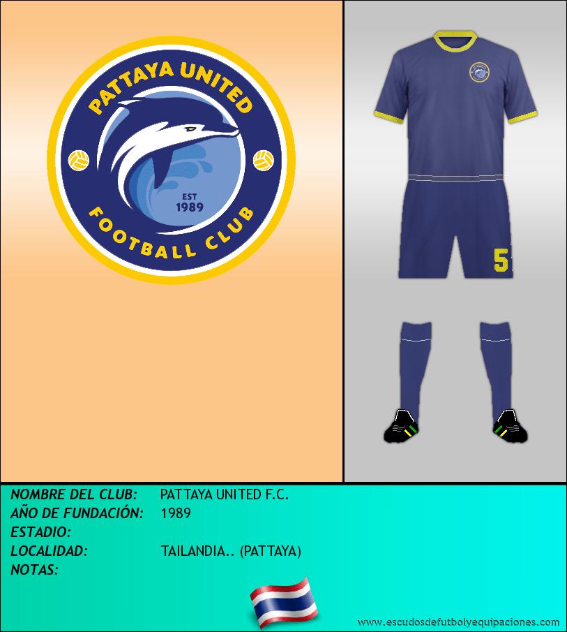 Escudo de PATTAYA UNITED F.C.