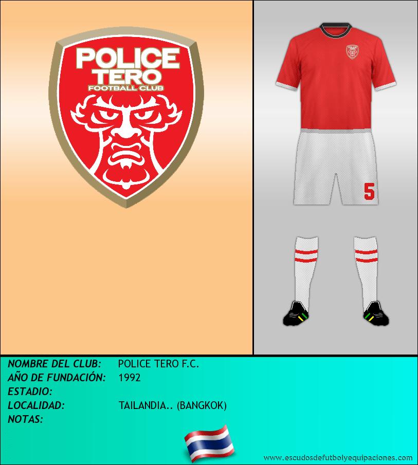 Escudo de POLICE TERO F.C.
