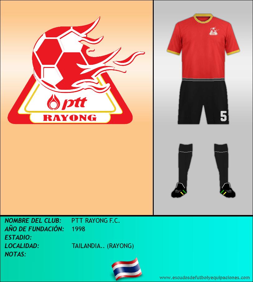 Escudo de PTT RAYONG F.C.