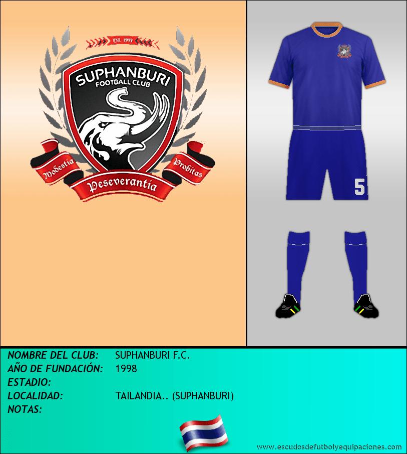 Escudo de SUPHANBURI F.C.