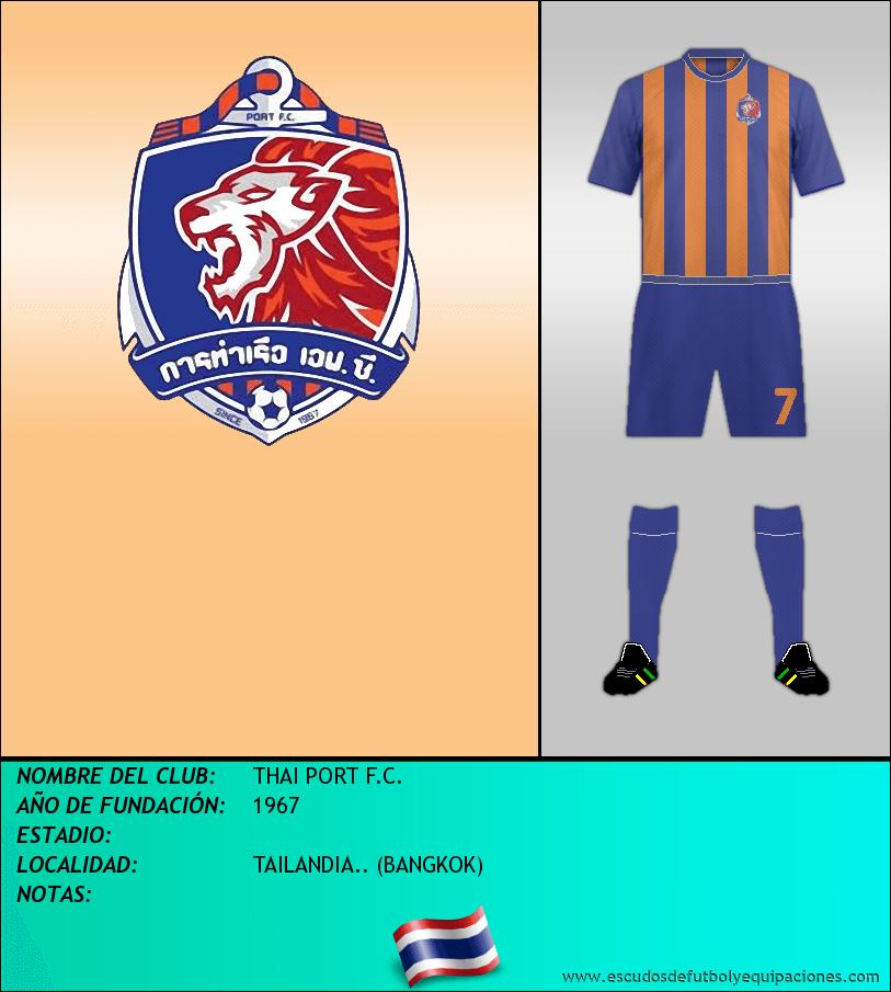 Escudo de THAI PORT F.C.