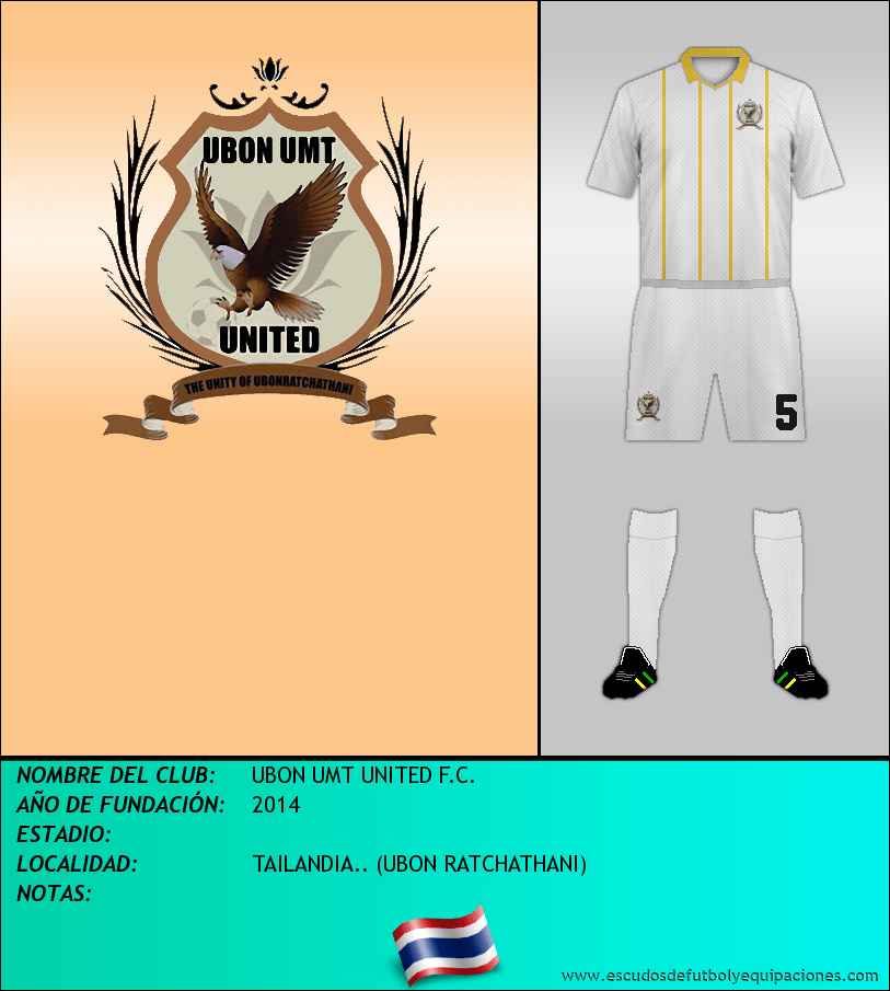Escudo de UBON UMT UNITED F.C.