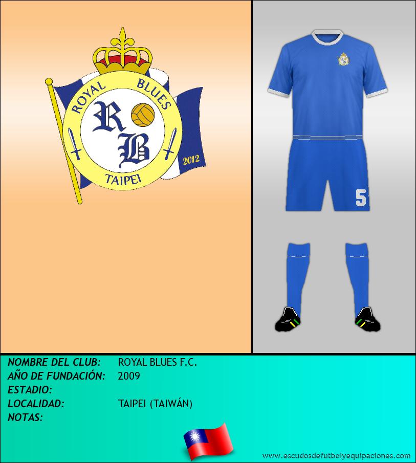 Escudo de ROYAL BLUES F.C.