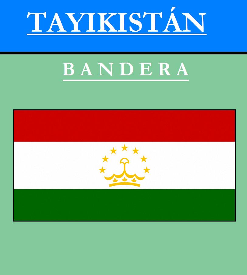 Escudo de BANDERA DE TAYIKISTÁN