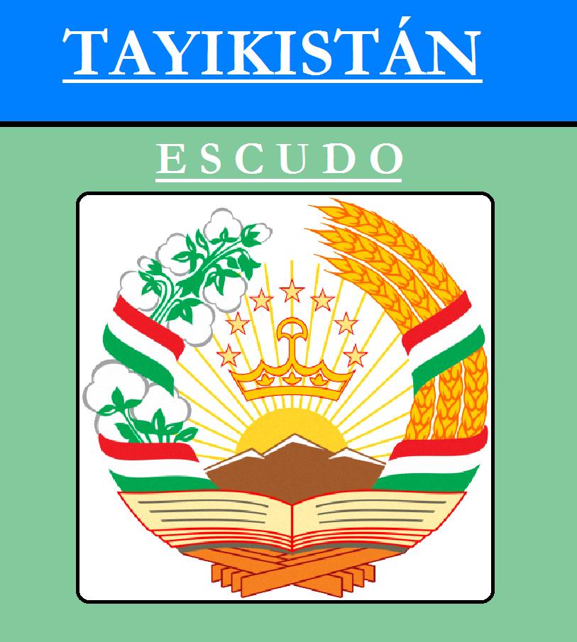 Escudo de ESCUDO DE TAYIKISTÁN