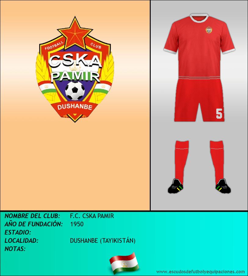 Escudo de F.C. CSKA PAMIR