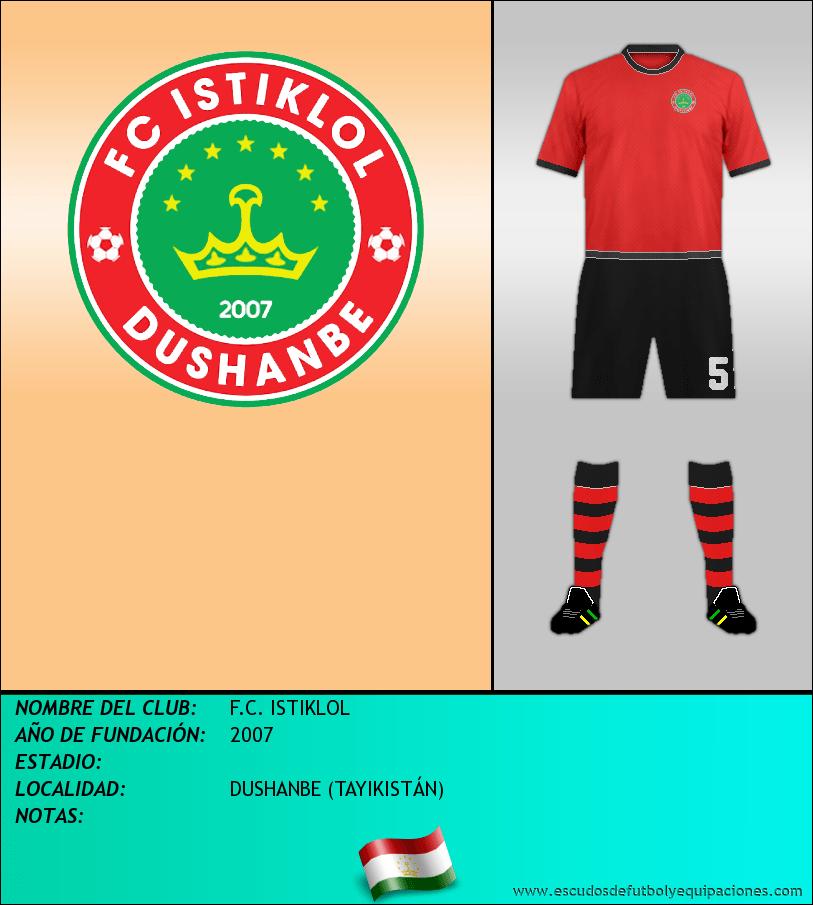 Escudo de F.C. ISTIKLOL