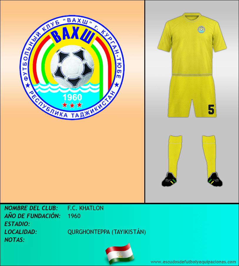 Escudo de F.C. KHATLON