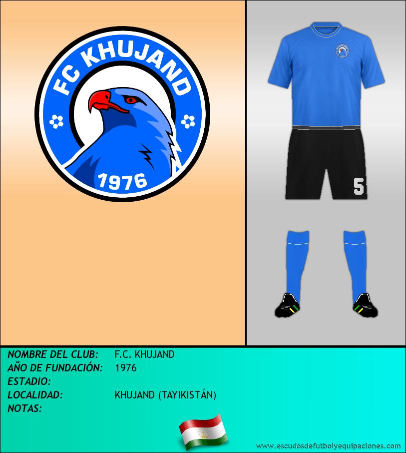 Escudo de F.C. KHUJAND