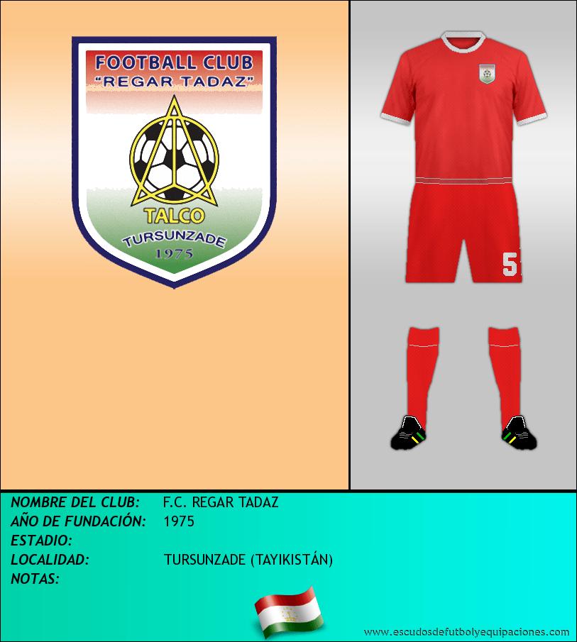 Escudo de F.C. REGAR TADAZ