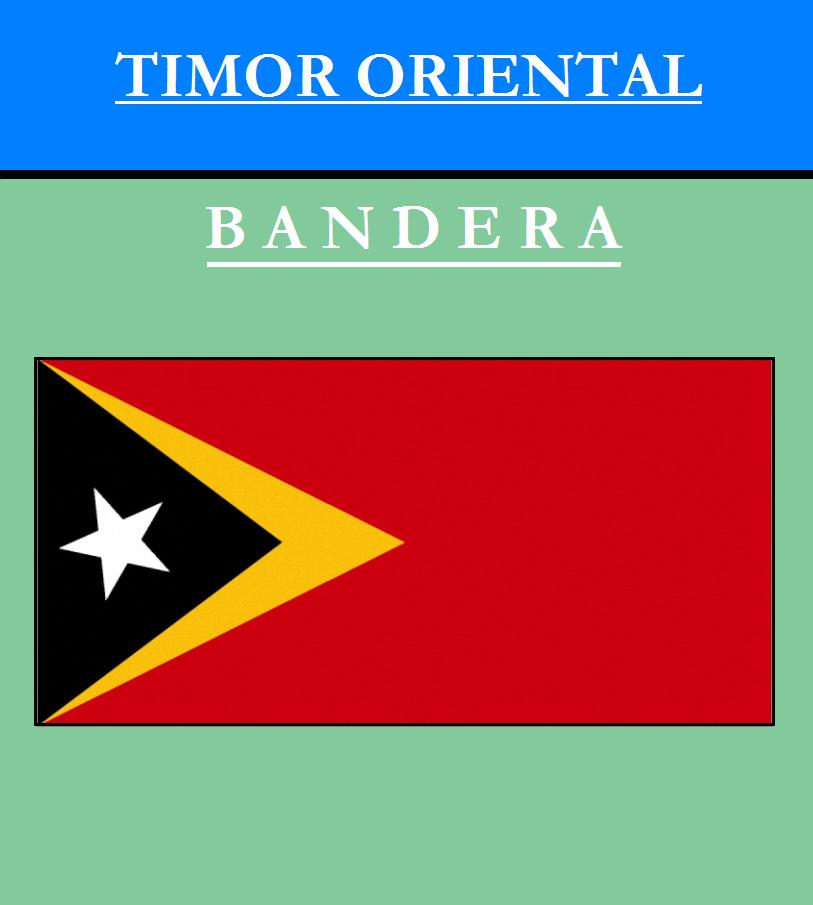 Escudo de BANDERA DE TIMOR ORIENTAL