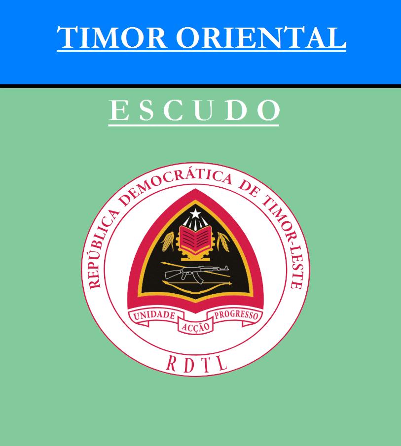 Escudo de ESCUDO DE TIMOR ORIENTAL