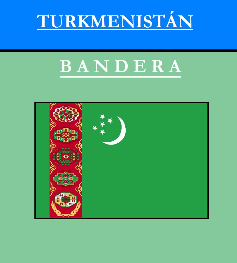 Escudo de BANDERA DE TURKMENISTÁN