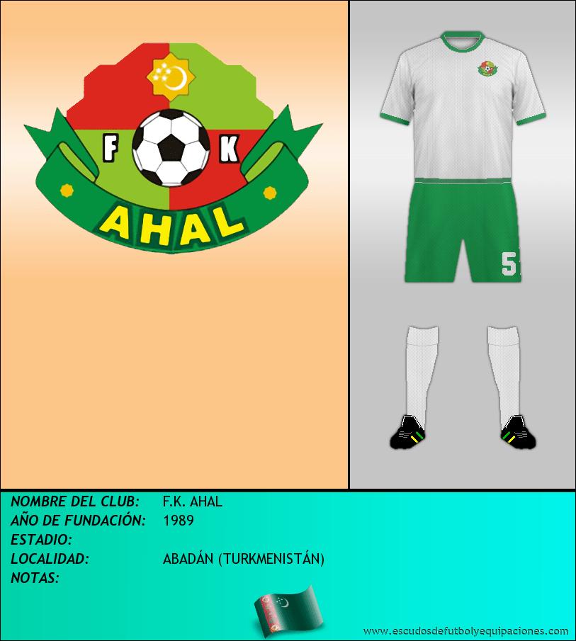 Escudo de F.K. AHAL