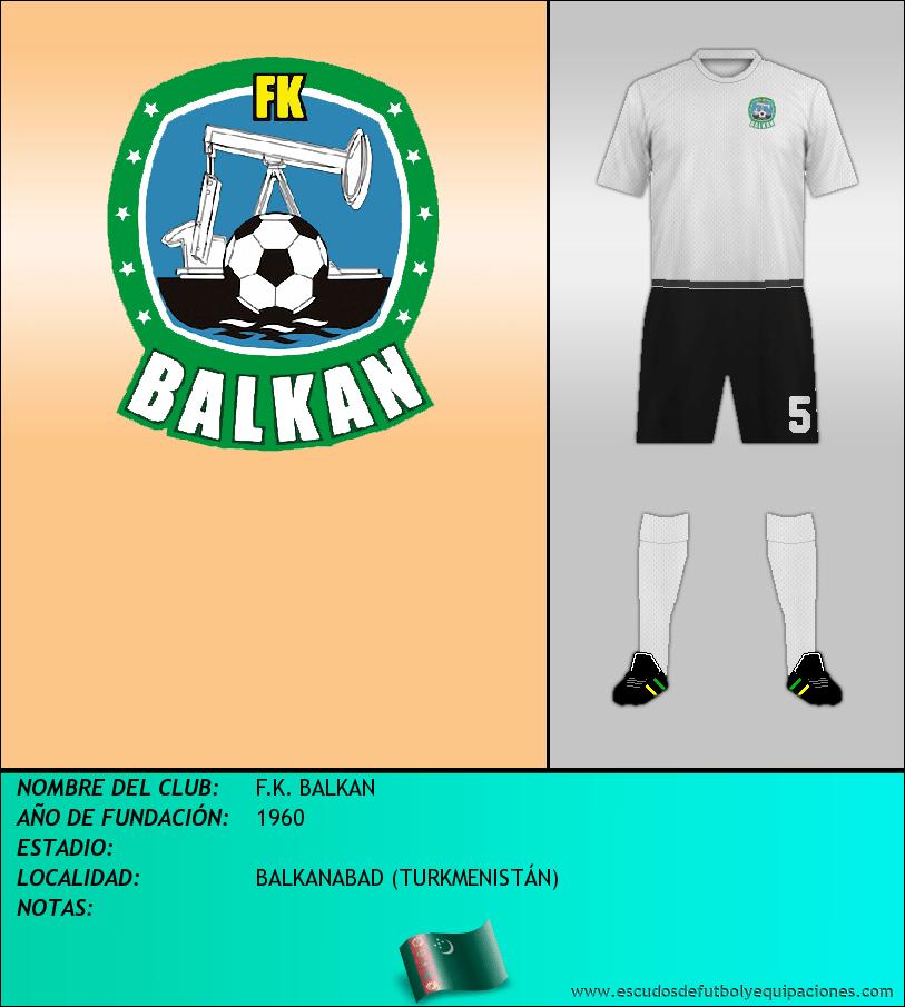 Escudo de F.K. BALKAN