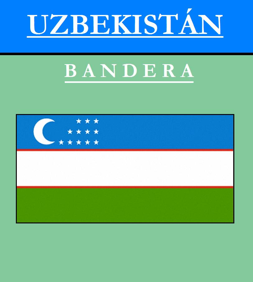 Escudo de BANDERA DE UZBEKISTÁN