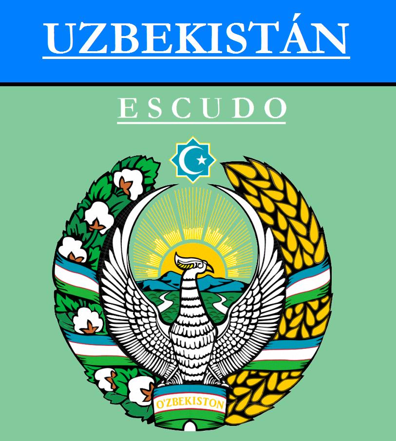 Escudo de ESCUDO DE UZBEKISTÁN