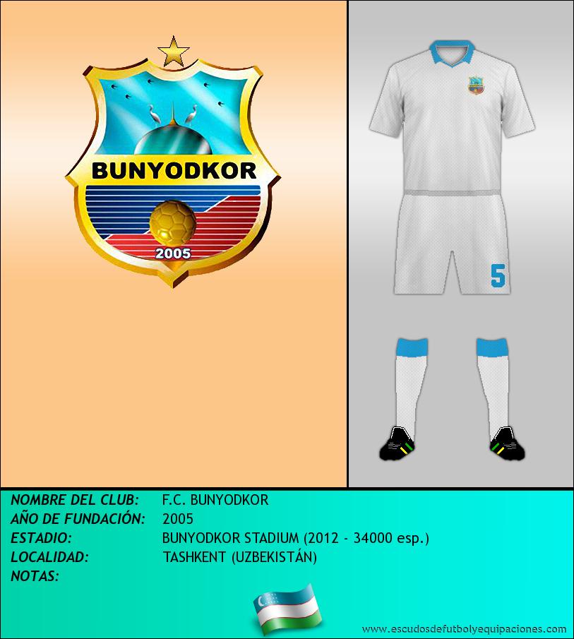 Escudo de F.C. BUNYODKOR