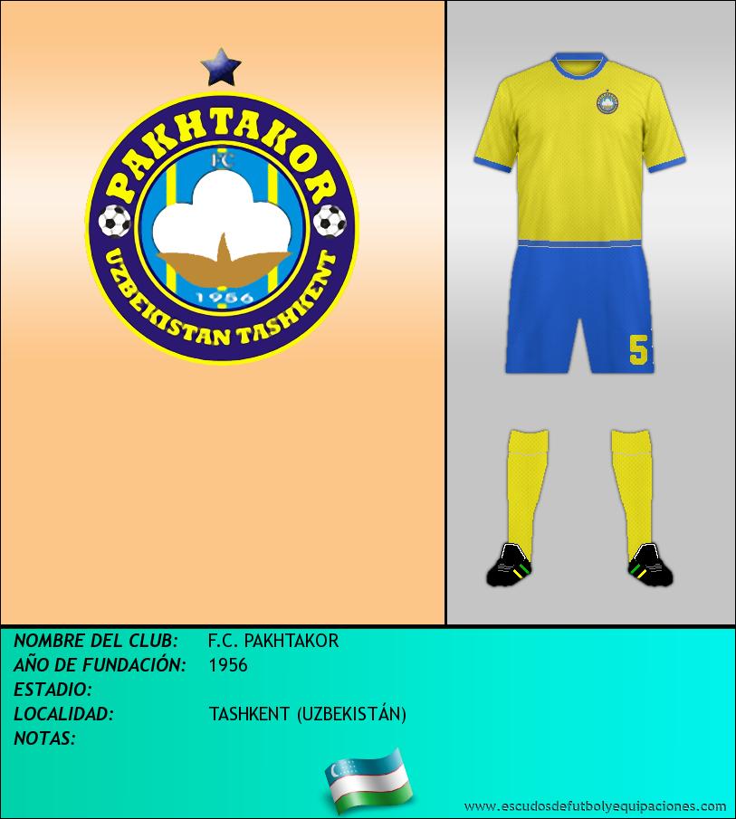 Escudo de F.C. PAKHTAKOR