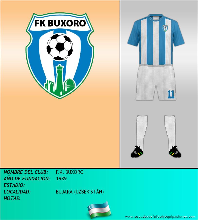 Escudo de F.K. BUXORO