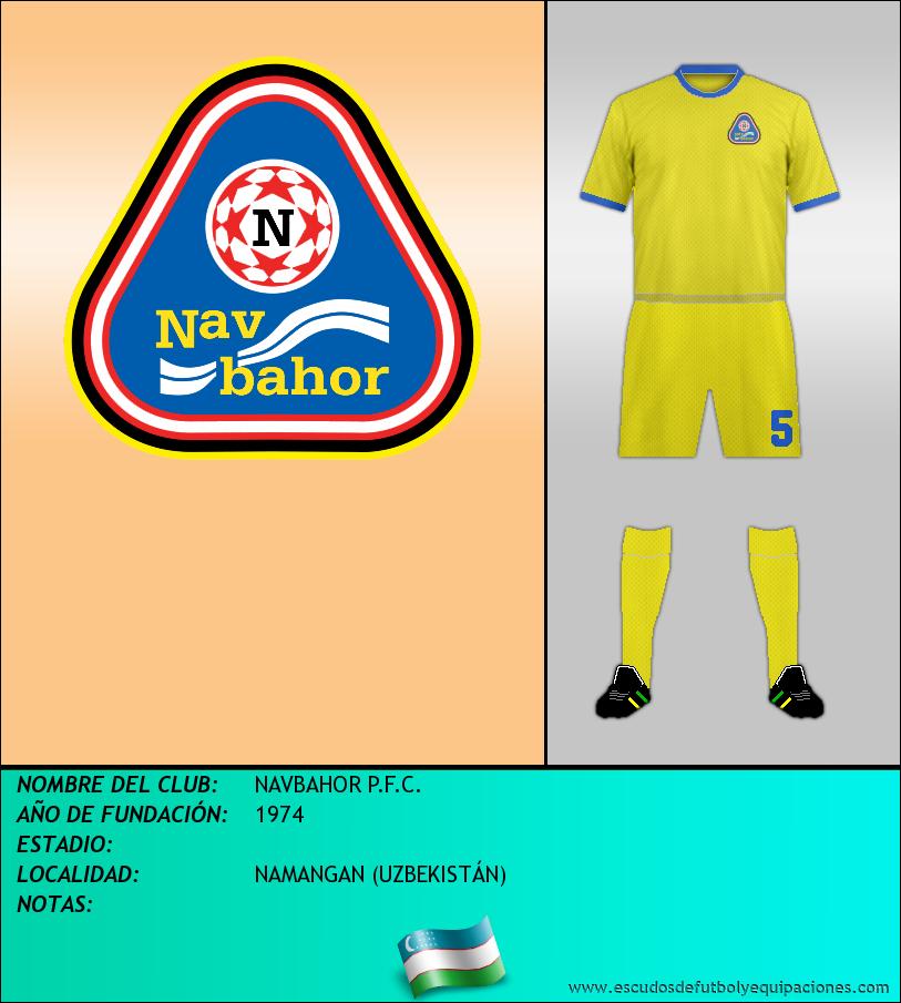 Escudo de NAVBAHOR P.F.C.