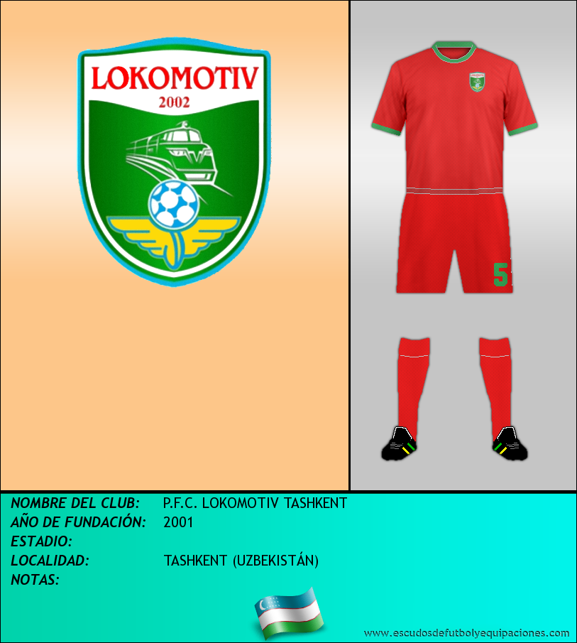 Escudo de P.F.C. LOKOMOTIV TASHKENT