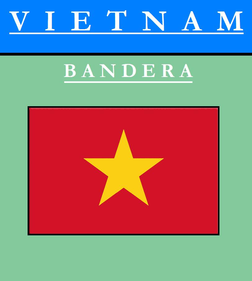 Escudo de BANDERA DE VIETNAM