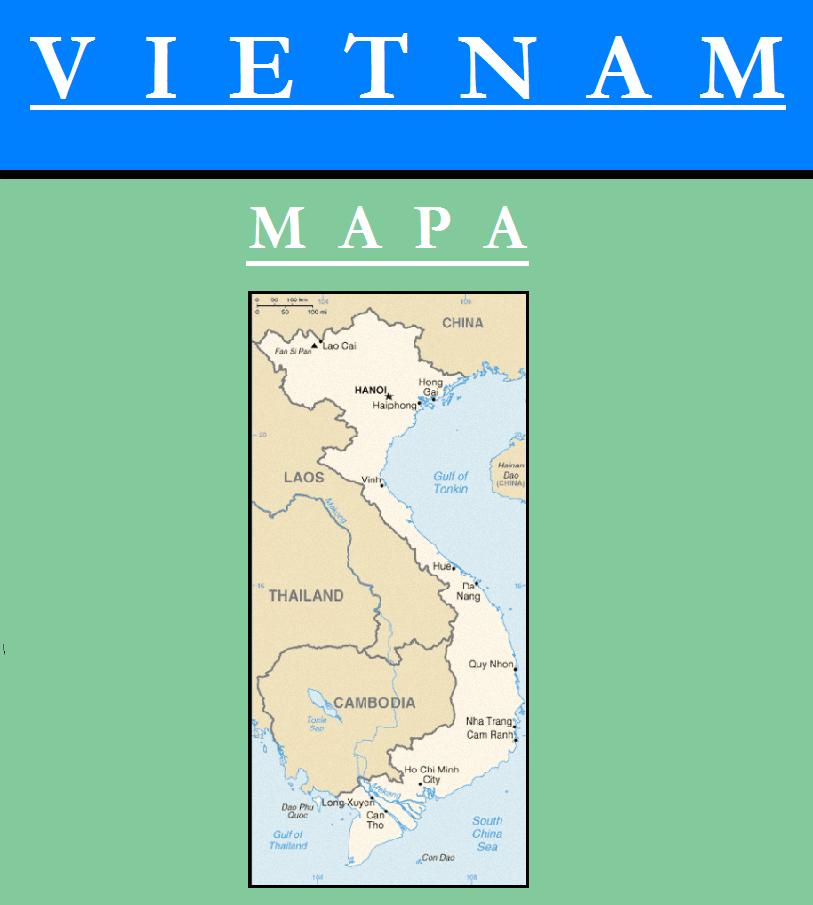 Escudo de MAPA DE VIETNAM