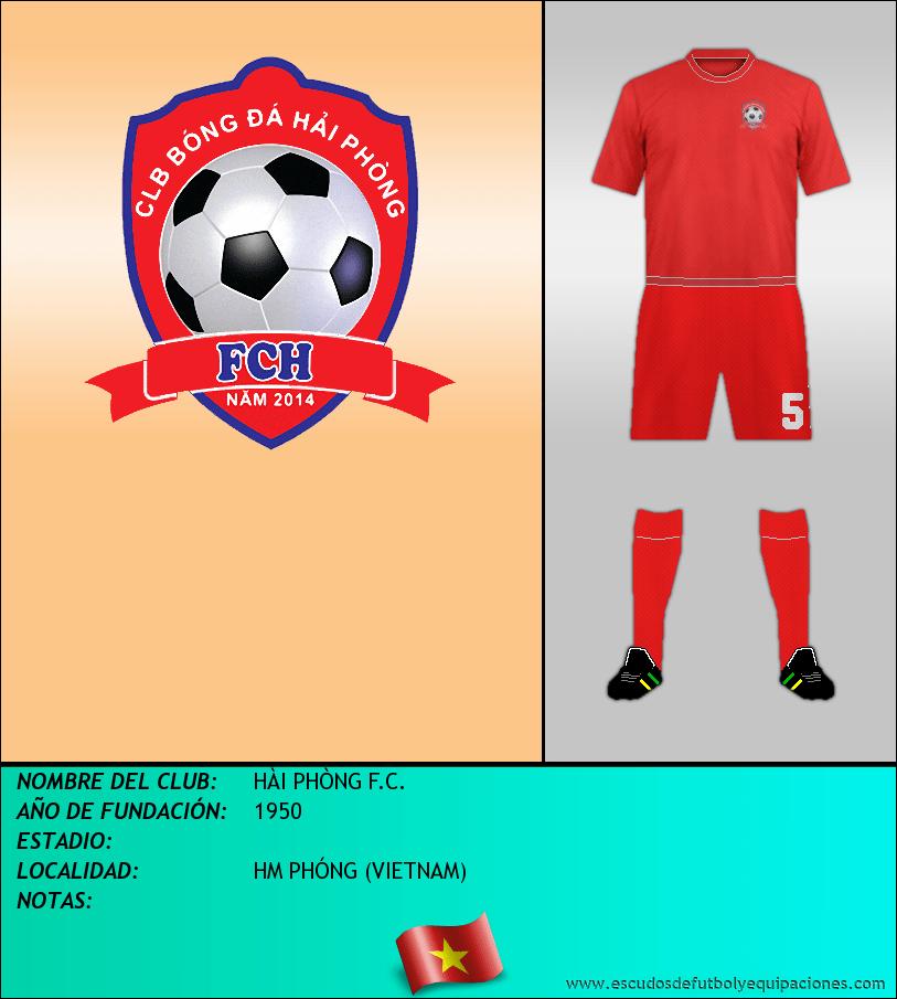 Escudo de HÀI PHÒNG F.C.