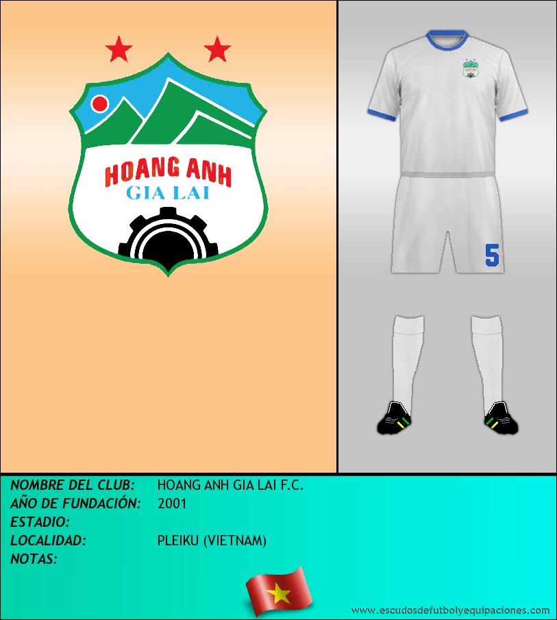 Escudo de HOANG ANH GIA LAI F.C.