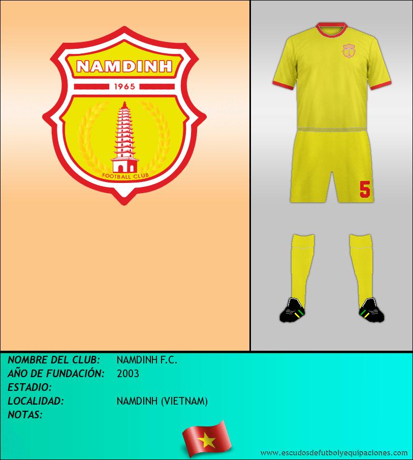 Escudo de NAMDINH F.C.