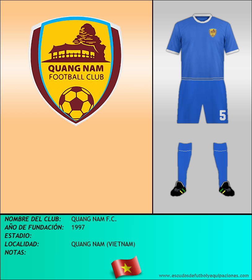 Escudo de QUANG NAM F.C.