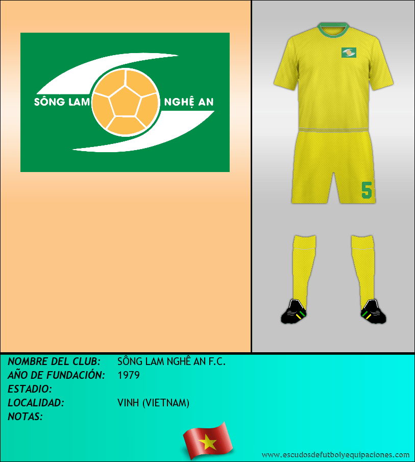 Escudo de SÔNG LAM NGHÊ AN F.C.