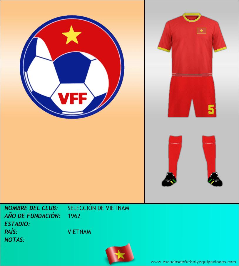 Escudo de SELECCIÓN DE VIETNAM