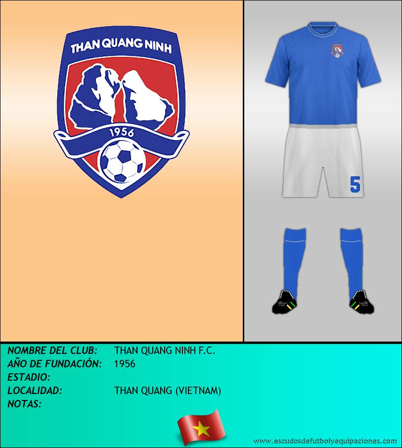 Escudo de THAN QUANG NINH F.C.