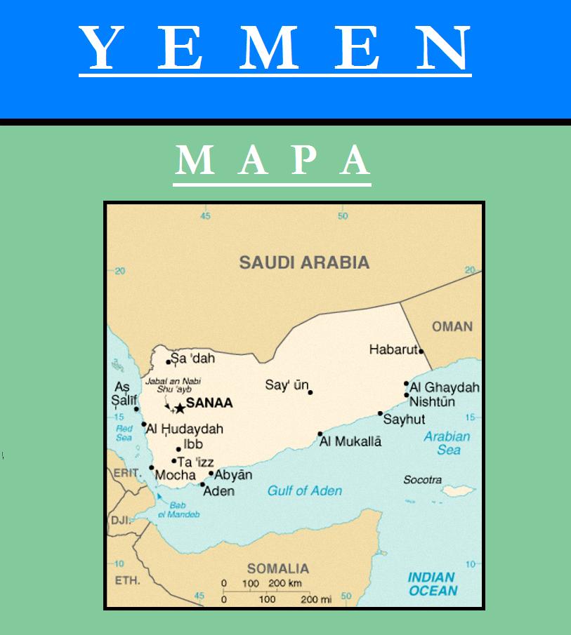 Escudo de MAPA DE YEMEN