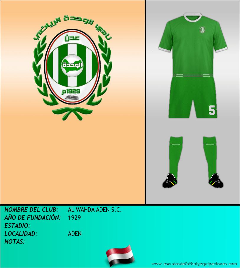 Escudo de AL WAHDA ADEN S.C.