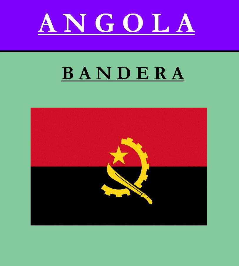 Escudo de BANDERA DE ANGOLA
