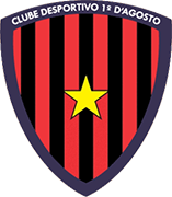 Escudo de CLUBE DESPORTIVO 1º D'AGOSTO
