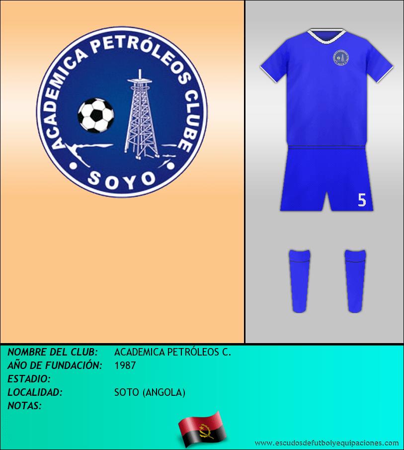 Escudo de ACADEMICA PETRÓLEOS C.