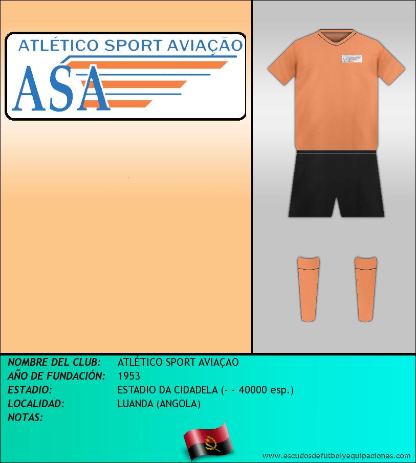 Escudo de ATLÉTICO SPORT AVIAÇAO