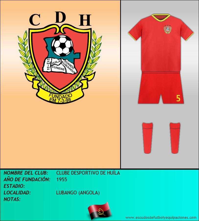 Escudo de CLUBE DESPORTIVO DE HUÍLA