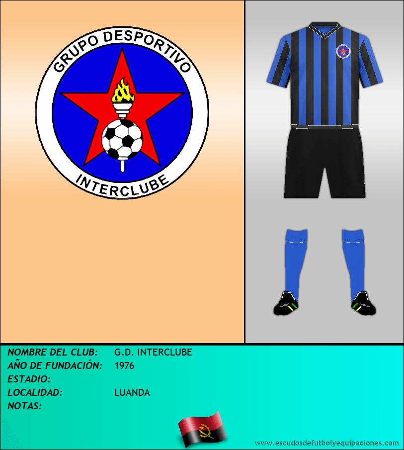 Escudo de G.D. INTERCLUBE