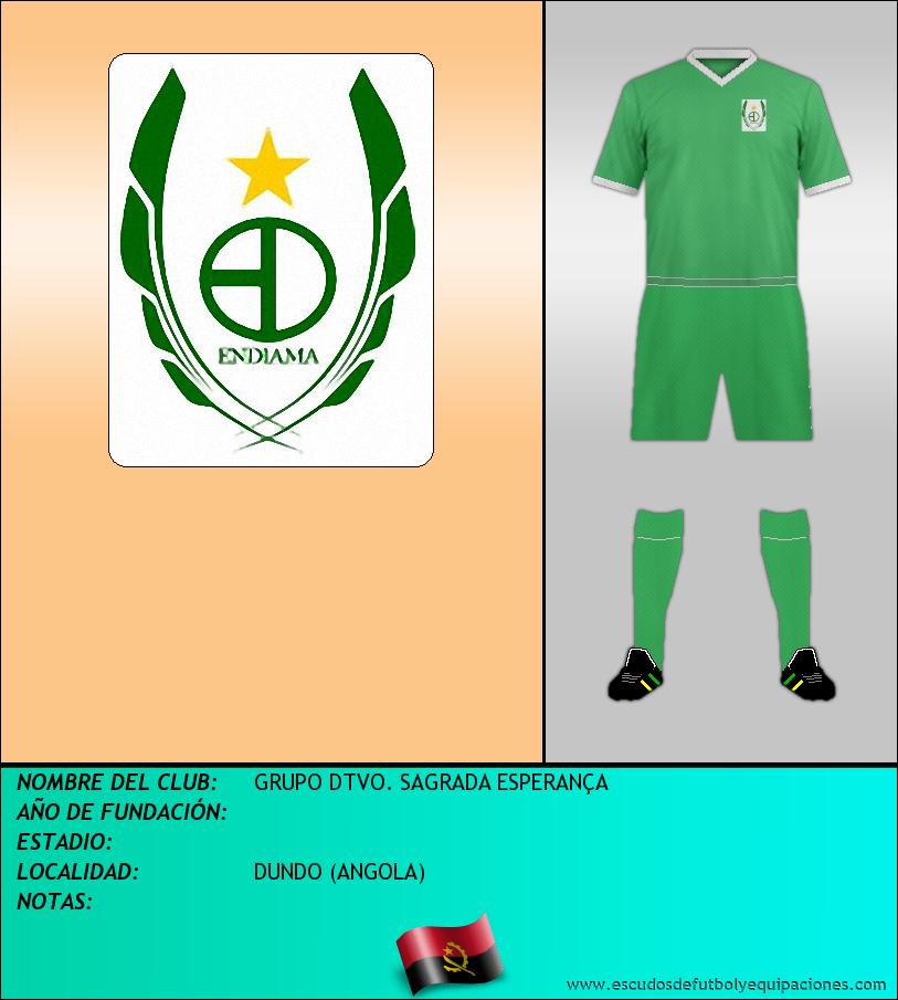 Escudo de GRUPO DTVO. SAGRADA ESPERANÇA