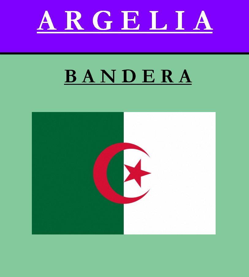 Escudo de BANDERA DE ARGELIA