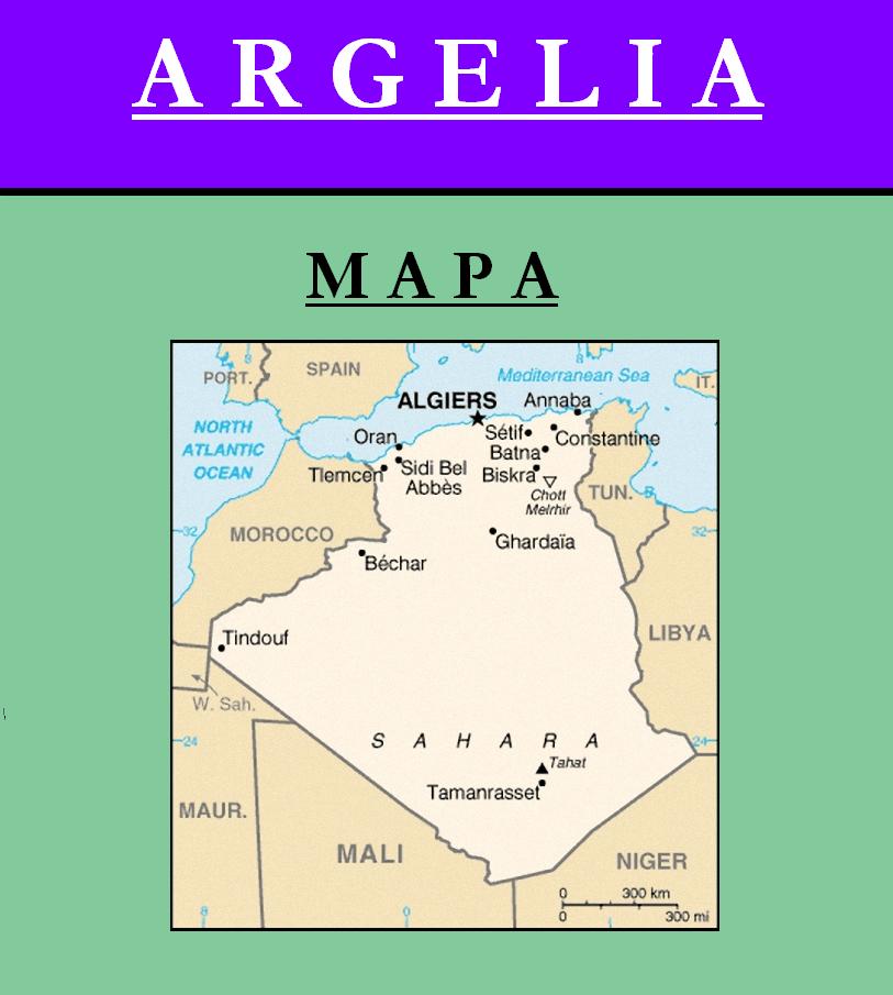 Escudo de MAPA DE ARGELIA
