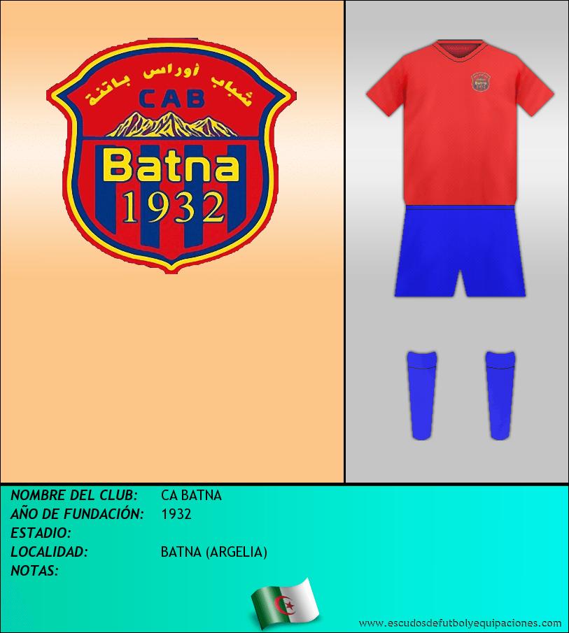 Escudo de CA BATNA