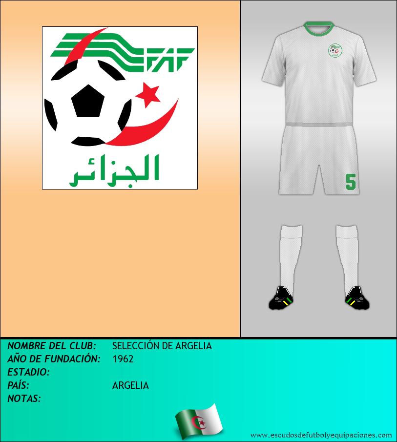 Escudo de SELECCIÓN DE ARGELIA