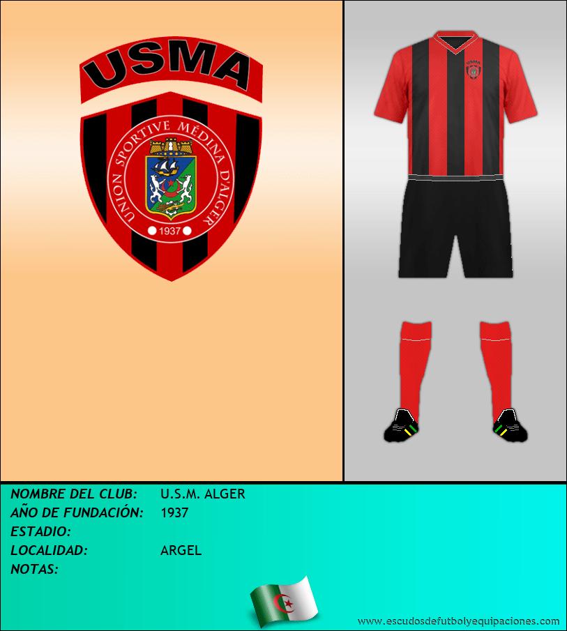 Escudo de U.S.M. ALGER
